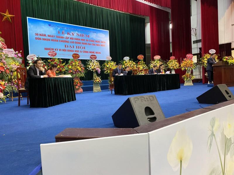 Chu tich Phan Xuan Dung tham du Dai hoi Dai bieu Hoi KH&CN Hang khong Viet Nam-Hinh-2