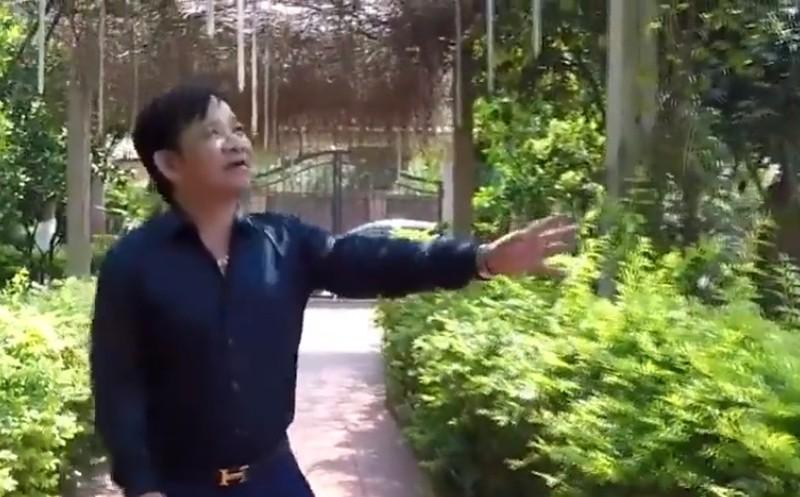 Nha vuon hon 1.000 m2 trong cay, nuoi ga cua nghe si Quang Teo-Hinh-2
