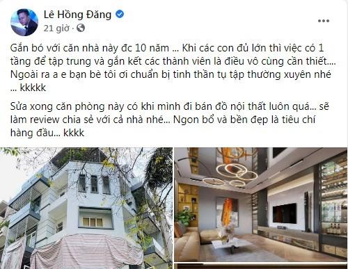 He lo biet thu 2 mat tien giua trung tam Ha Noi cua Hong Dang
