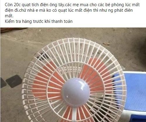 Loan gia quat tich dien day cho mang: Dung 1 mua da hong... nhieu rui ro-Hinh-2