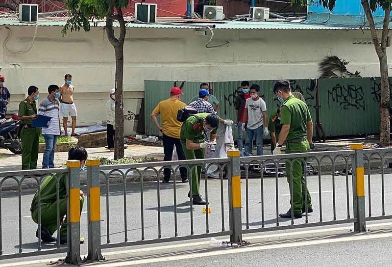 Truy bat hung thu dam chet tai xe GrabBike truoc cong benh vien-Hinh-2