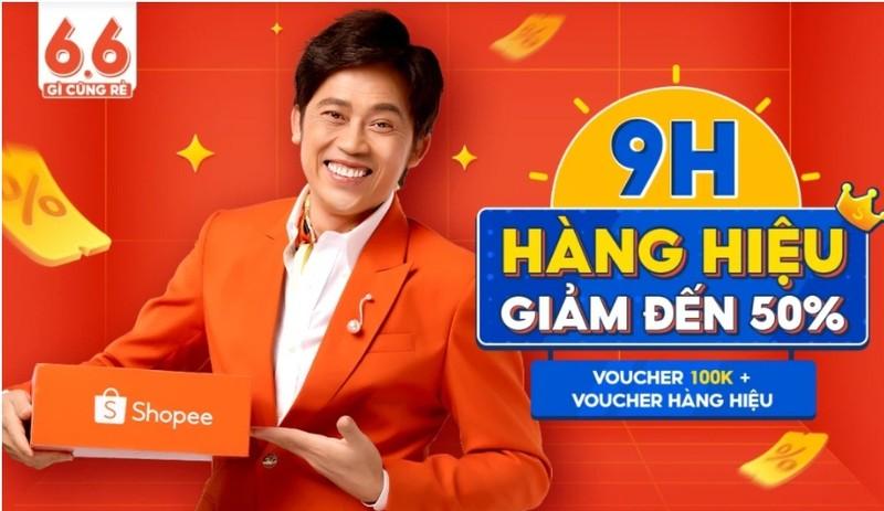 Shopee da go bo toan bo hinh anh Hoai Linh