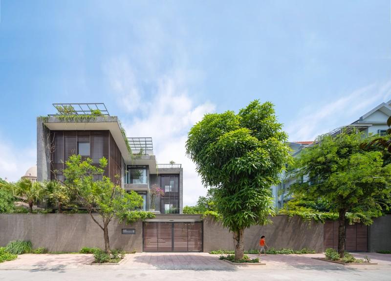Biet thu 3 tang dep ngang resort o Ninh Binh