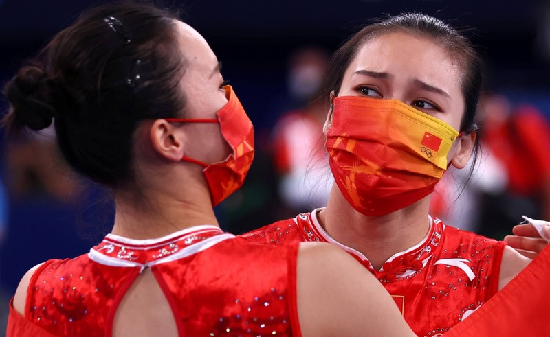 Nu than the duc dung cu Trung Quoc gianh huy chuong Olympic