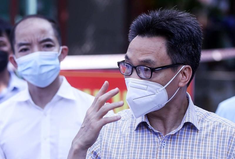 Pho thu tuong: 'Ha Noi phan dau khong de tinh hinh dich nhu TP.HCM'