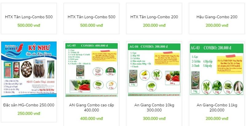 Combo nong san 10kg gia tu 100.000 dong: Noi nao ban, dat mua sao?