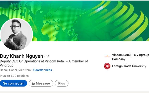 "Soi profile ""khung"" cua Pho Tong Giam doc 9X Vincom Retail"