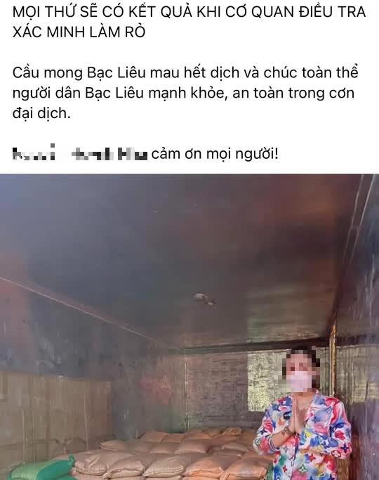 """Bac Lieu: Nu GD bi to lam lay lan dich COVID-19 viet """"tam thu"""" xin loi"""