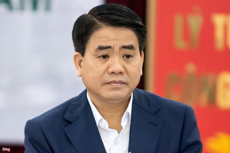 Bui Quang Huy gui ong Nguyen Duc Chung 2 email: Noi dung gi?