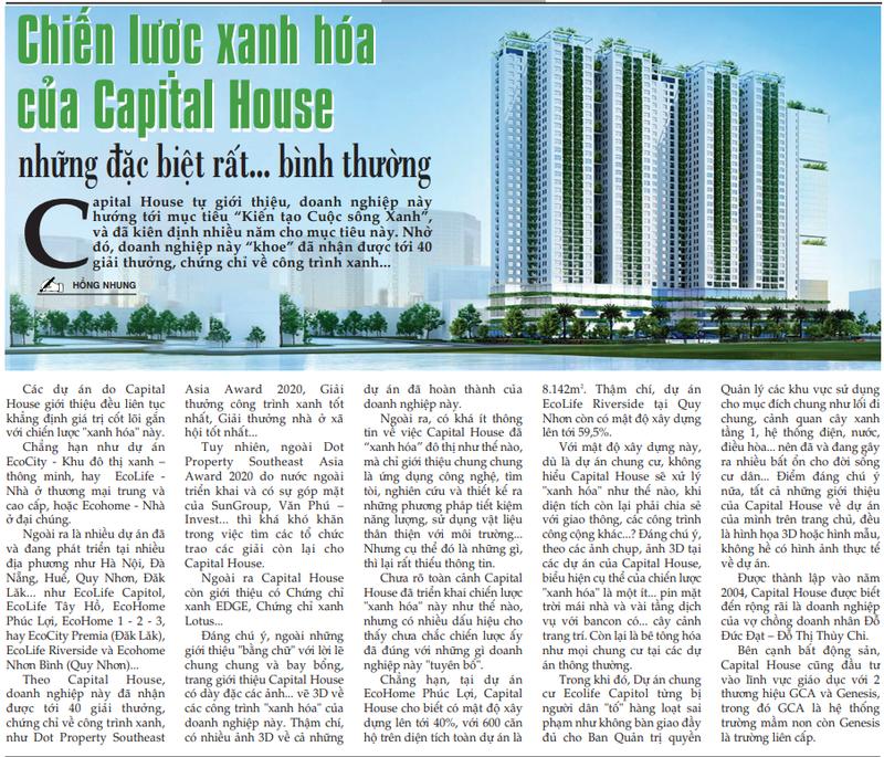 Chien luoc xanh hoa cua Capital House: Nhung dac biet rat... binh thuong-Hinh-2