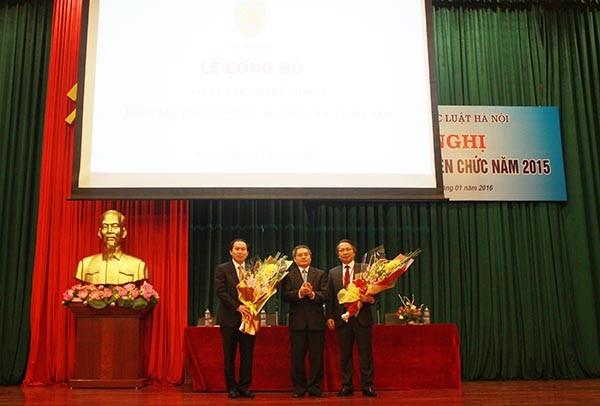Bo nhiem Hieu truong DH Luat: Hay hanh xu dung luat de dan tin!