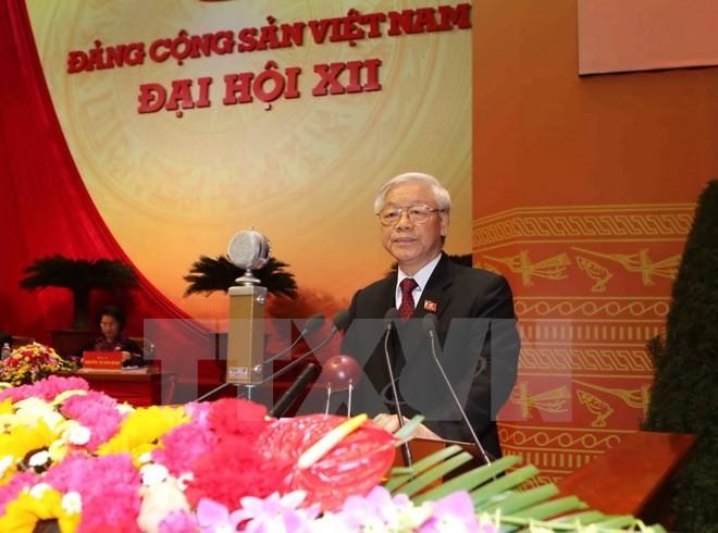 Toan van Bao cao cac van kien Dai hoi XII cua BCH TW Dang khoa XII
