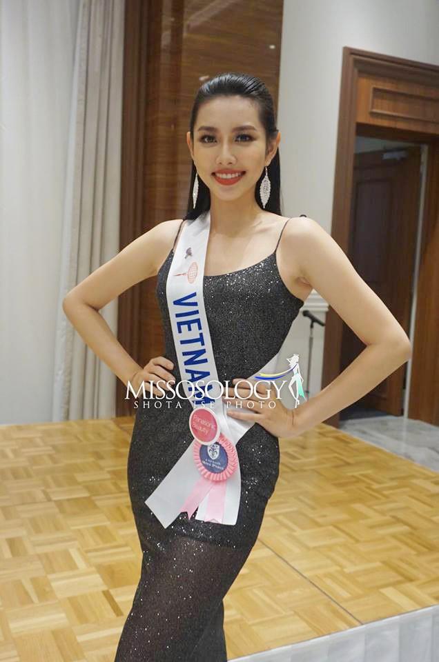 Thuy Tien khong co ten trong top 20 du doan Miss International-Hinh-2