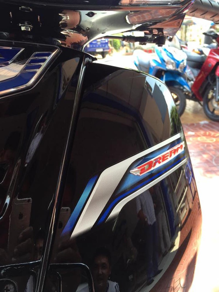 Can canh Honda Dream 125 ban 2016 tai Viet Nam-Hinh-4
