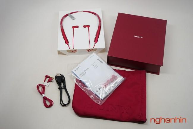 Mo hop tai nghe Sony MDR-EX750BT ho tro nghe nhac Hi-Res-Hinh-2
