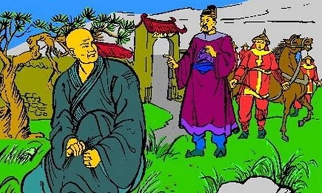 Am anh loi nguyen cua Ly Hue Tong voi nha Tran