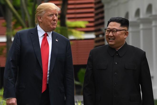 TT Trump noi co the cung ong Kim di bo qua khu vuc nguy hiem nhat the gioi