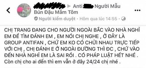 'Manh tay' nhu Trang Tran den tan nha tim anti-fan, 'tang nhu trong phim