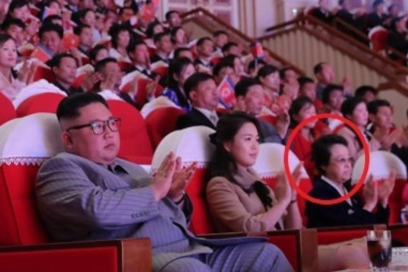 Co ruot ong Kim Jong-un bat ngo xuat hien sau 6 nam chong chet