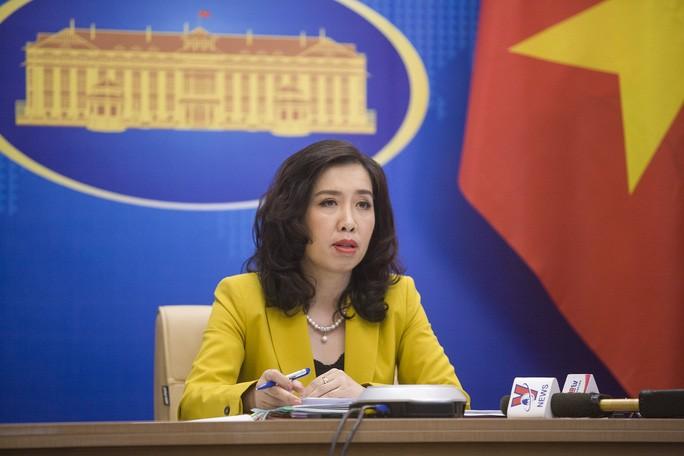 Nguoi phat ngon len tieng ve thong tin Trung Quoc xay can cu ten lua thu 2 gan bien gioi Viet Nam