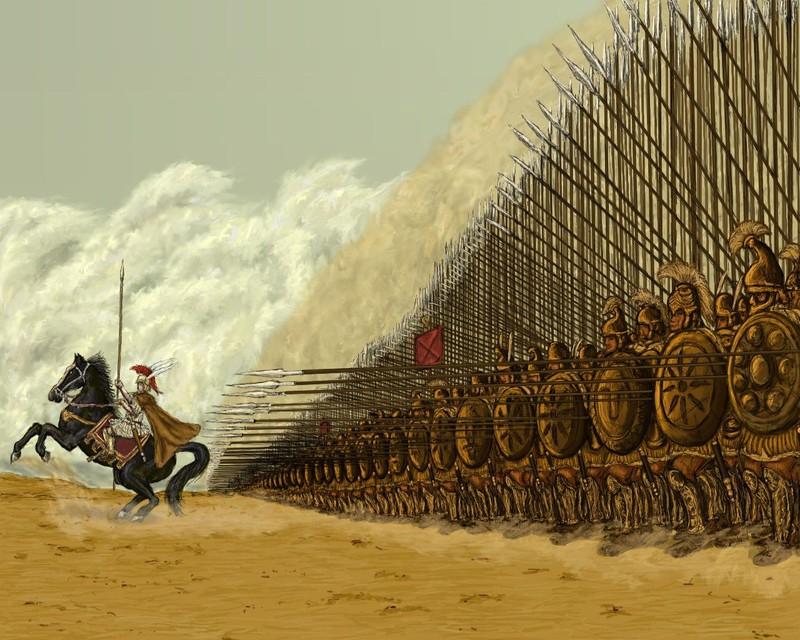 Diem yeu chi tu cua doi hinh phalanx tru danh thoi co dai-Hinh-2