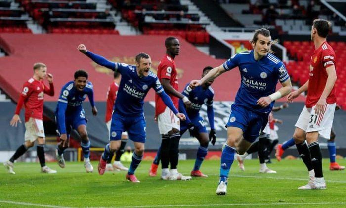 MU thua Leicester, Man City chinh thuc vo dich Premier League