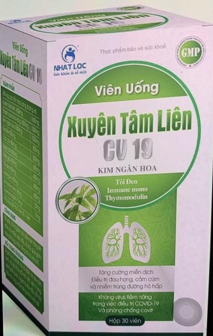 """Bo Y te canh bao 2 san pham Xuyen Tam Lien """"no"""" cong dung khang COVID-19 la gia mao-Hinh-2"""