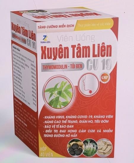 """Bo Y te canh bao 2 san pham Xuyen Tam Lien """"no"""" cong dung khang COVID-19 la gia mao"""