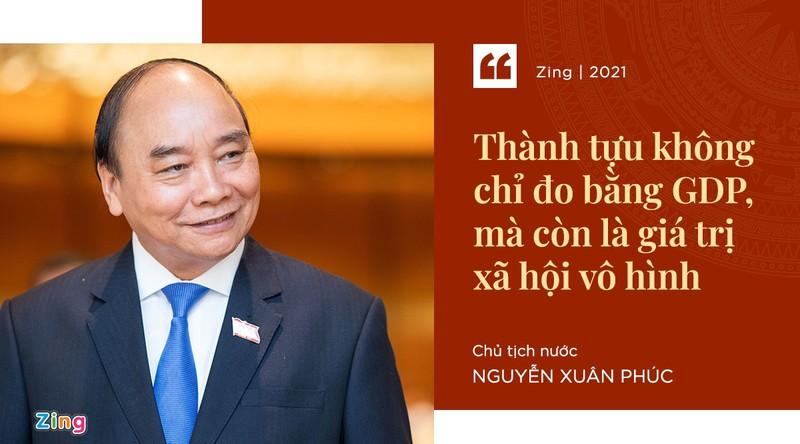 Phat ngon an tuong cua Chu tich nuoc Nguyen Xuan Phuc