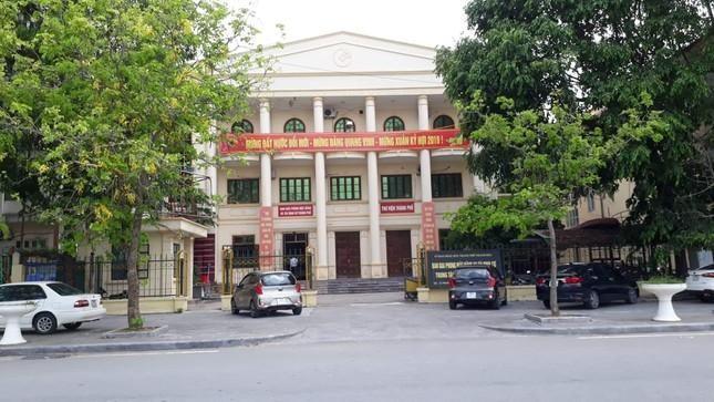 Khai tru ra khoi Dang nhieu can bo o TP Thanh Hoa