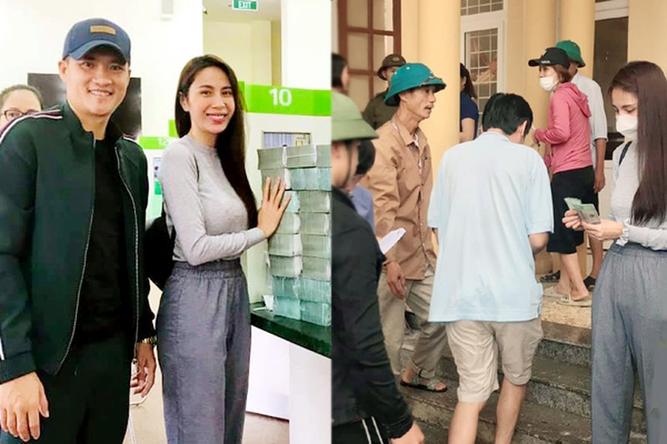 Quang Binh yeu cau cung cap chung cu hoat dong tu thien cua ca si Thuy Tien
