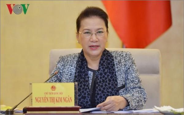Chu tich Quoc hoi len duong tham du AIPA 40 tai Thai Lan