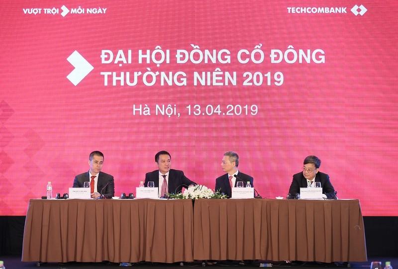 Techcombank: Ong Ho Hung Anh tai dac cu CTHDQT nhiem ky thu ba lien tiep