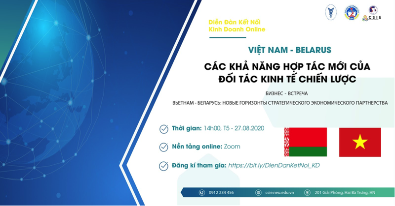 Viet Nam - Belarus: Kha nang hop tac moi cua doi tac kinh te chien luoc