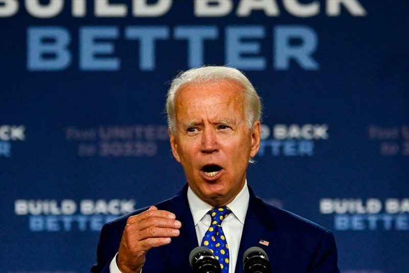 Ong Joe Biden dot ngot thay doi chien thuat tranh cu sau tranh luan