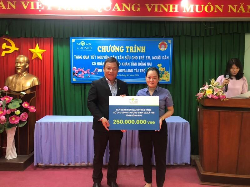 Nova Group dong hanh cung ho ngheo, nan nhan chat doc da cam tinh Dong Nai-Hinh-4