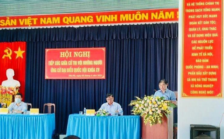 Ngay 2 TXCT xa Phuoc Ha, Nhi Ha: Cac ung vien Dai bieu Quoc hoi duoc ky vong gi?