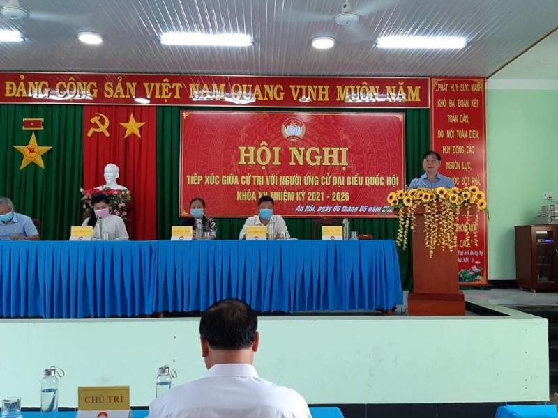 Ngay 3 TXCT huyen Ninh Phuoc cua DV bau cu so 2: 4 ung vien DBQH va TSKH Phan Xuan Dung thuyet trinh gi?-Hinh-2