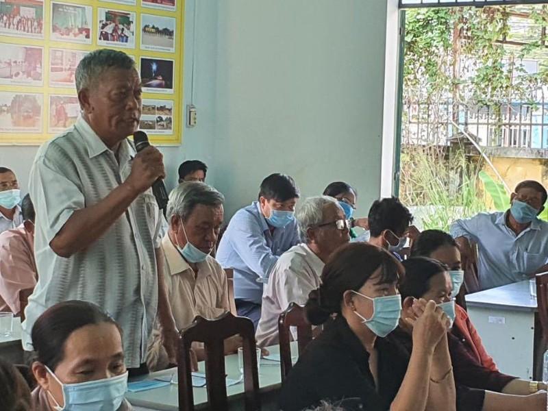Chum anh Chu tich VUSTA Phan Xuan Dung va cac ung vien DBQH tiep xuc cu tri huyen Ninh Phuoc, Bac Ai-Hinh-10
