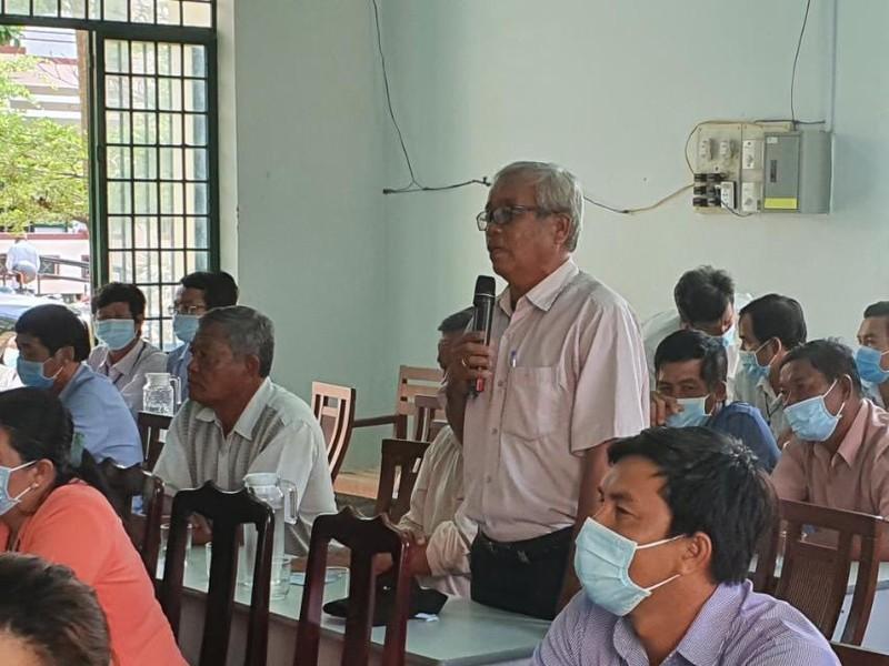 Chum anh Chu tich VUSTA Phan Xuan Dung va cac ung vien DBQH tiep xuc cu tri huyen Ninh Phuoc, Bac Ai-Hinh-5
