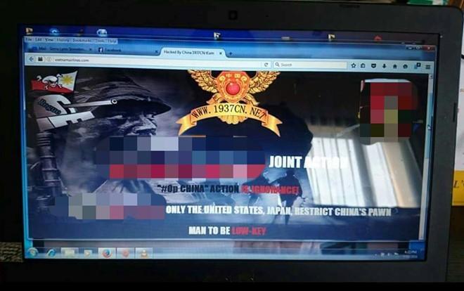 Website Vietnam Airlines bi hack, lo thong tin khach hang