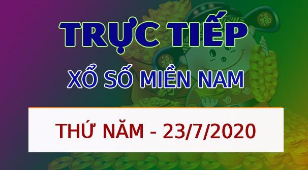 Xo so Mien Nam thu 5 ngay 23 thang 7 nam 2020 - Ket qua XSMN hom nay