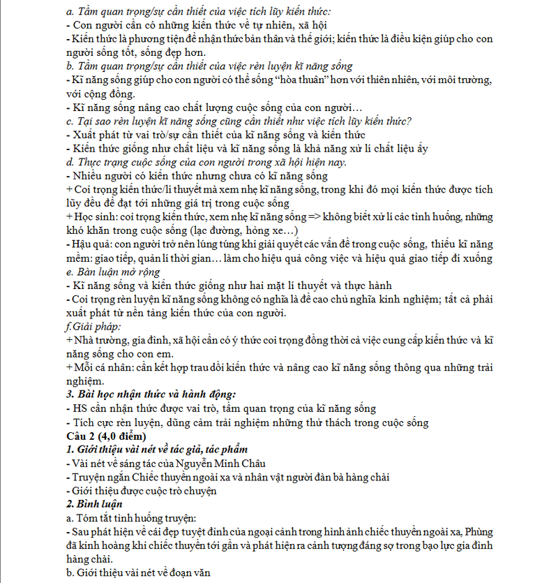 Dap an de thi THPT quoc gia mon Ngu Van nam 2015 sang ngay 2/7-Hinh-2