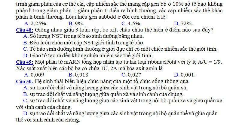 De thi thu THPT quoc gia mon Sinh nam 2015 va dap an-Hinh-8