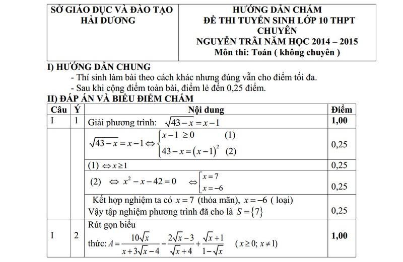 De thi vao lop 10 THPT mon Toan chuyen Nguyen Trai nam 2014-Hinh-3