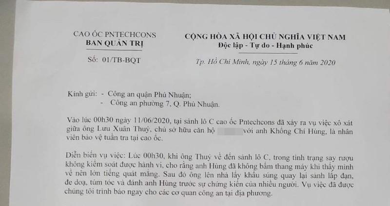 Pho chu tich Tap doan Deo Ca cam sung de doa bao ve chung cu-Hinh-3