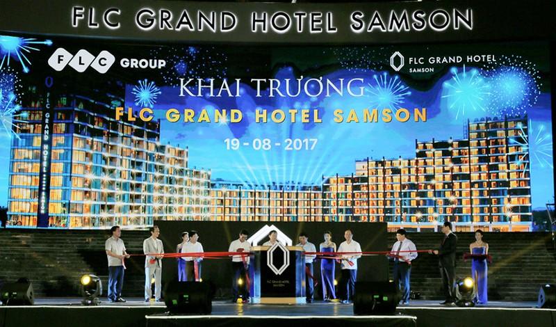 Tap doan FLC chinh thuc khai truong FLC Grand Hotel Samson-Hinh-4