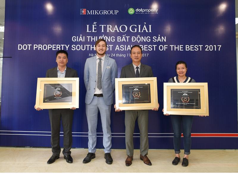 MIKGroup bat ngo lap cu hat-trick tai giai Dot Property Dong Nam A 2017