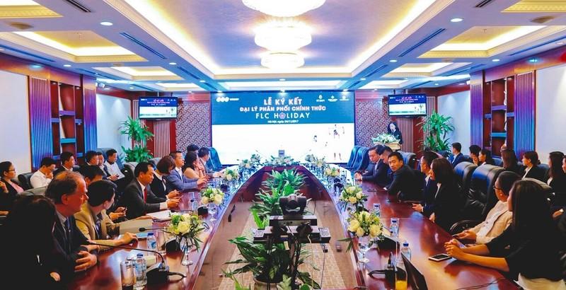 FLC cong bo 3 dai ly phan phoi chinh thuc FLC Holiday