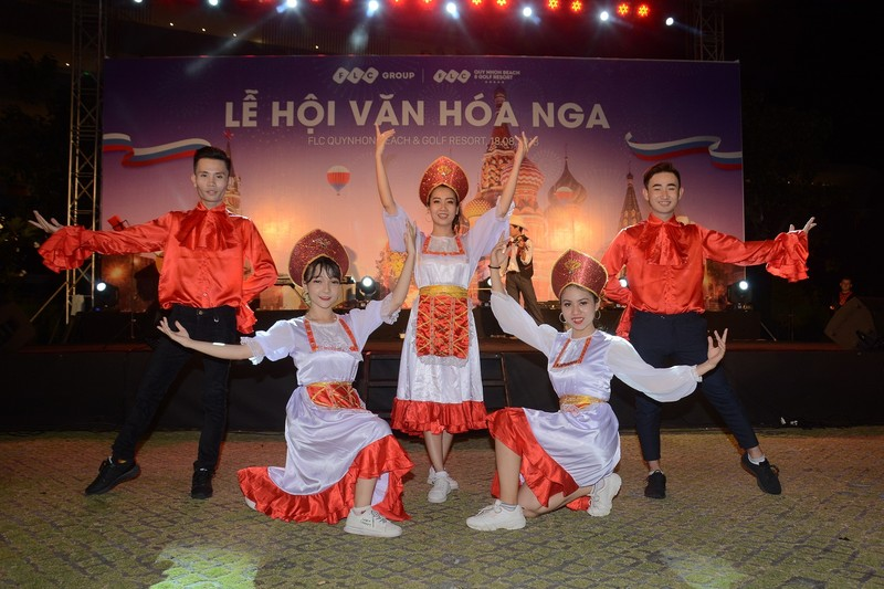 Ron rang chuoi hoat dong ben le chao mung le ra mat Bamboo Airways tai FLC Quy Nhon-Hinh-11